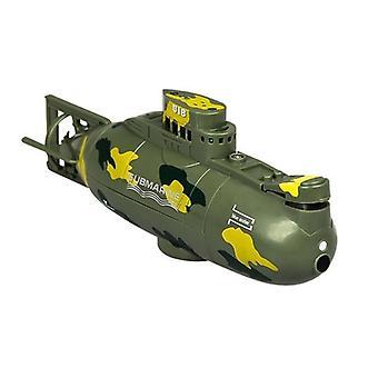 Brinquedo de barco submarino, controle remoto, modelo impermeável, Rc, Simulação, Mergulho