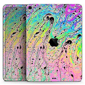 Neon színű fushion V3 - Teljes test bőr matricája az Apple Ipad Pro számára