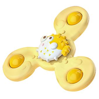 Homemiyn Children Suction Cup Rotating Toys Gyro Toy
