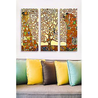 MDF0072 Flerfärgad dekorativ MDF-målning (3 stycken)