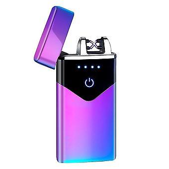 חדש hb-020-ice אופנה כפולה קשת אלקטרונית מגע חכם קל USB אינדוקציה נטענת sm41898
