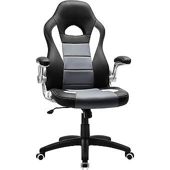 Gamingstuhl, Racing Chair, Schreibtischstuhl mit hoher Rückenlehne, Bürostuhl, höhenverstellbar,