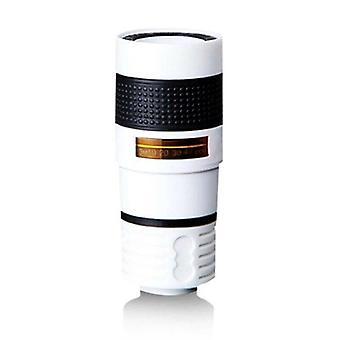 (White) 12X-zoom Monocular Telephoto For Phone HD Camera Len Telescope Starscope