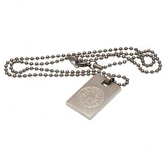 Leicester City FC Hondenlabel & Ketting