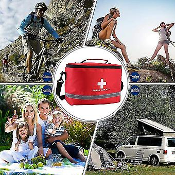 Sports Camping Home Medical Emergency Survival First Aid Kit Bag Outdoors