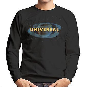 Universal Pictures Space Logo Herr Sweatshirt