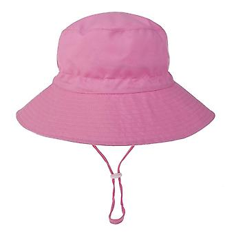 الصيف الطفل الشمس قبعة كاب بنما للجنسين دلو القبعات الشاطئ