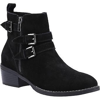 هش الجراء النساء جينا سويدي الرمز البريدي حتى أحذية الكاحل