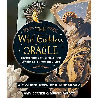 Wild Goddess Oracle Deck and Guidebook by Monte Farber