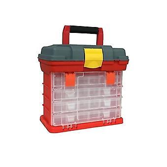 Fishing Tackle Portable Toolbox Case Screw Hardware Plastic Storage Box