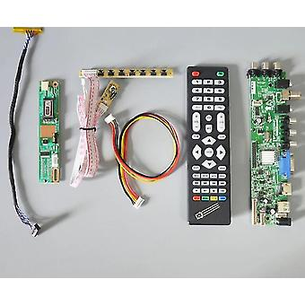Ds.d3663 Lua.a81.2.pa Pair Lcd Led Tv Driver Board Universal Controller 3663