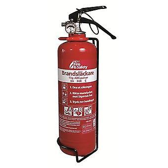 Extintor de incendios de Nexa, rojo 1 kg polvo 8A 34B C