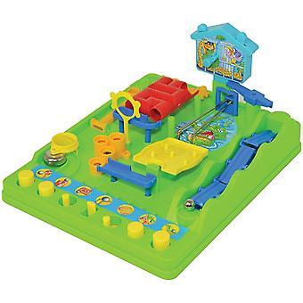 7070 Aktivität Brettspiel Screwball Scramble Classic Toy Obstacle Course Neu