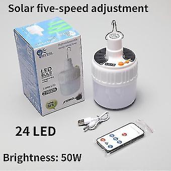 キャンピングライトランタンは、電球ライトソーラー屋外防水充電式電球モバイルナイトマーケット失速世帯を導いた