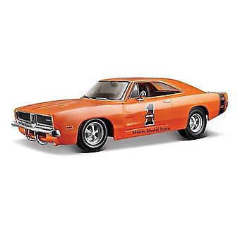 Toy cars 1:24 dodge refit challenger r/t highly detailed die cast precision model car model collection christmas gift