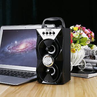 Ms-207bt Bluetooth Dual Speaker Portable Indoor Outdoor Wireless Speaker
