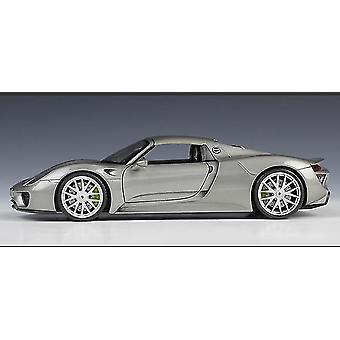 1:24porsche 918 Spyder Concept Sports Car Simulation Die Casting Alloy Car Model Ornaments