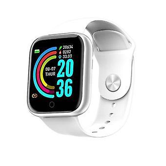 Gezondheidsfitness smartwatch met hartslagslaap en zwemtracking