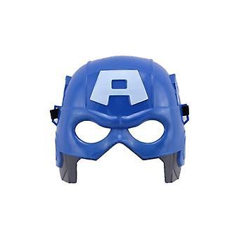 Avengers Superheld Captain American Bracket Metallschild und Maske Spielzeug