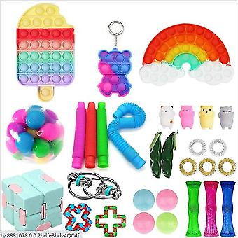 Sensory Decompression Toy Set Puzzle Diy Combination Toys -39