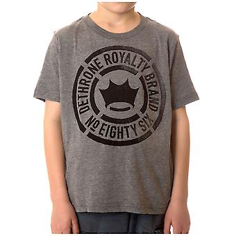 Kid's verschoten T-Shirt-atletische Heather onttronen