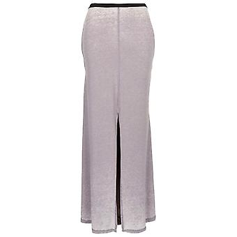 Topshop Burnout Split Maxi Skirt