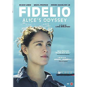 Fidelio: Alice's Odyssey [DVD] USA importerer