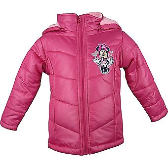 Filles Disney Minnie Mouse Hooded Puffer hiver / Veste