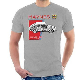 Haynes Owners Workshop Manual 0084 Volkswagen 1600 Fastback Men's T-Shirt