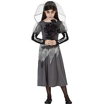 Pour enfants costumes fille filles Costume Zombie Honeymoon