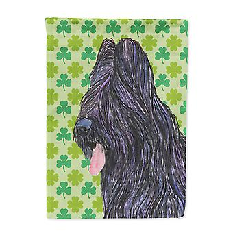 Carolines Treasures  SS4420-FLAG-PARENT Briard St. Patrick's Day Shamrock Portra