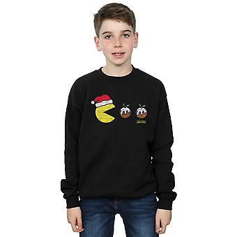 Pacman Boys Christmas pudding Sweatshirt