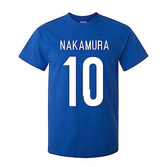 Shinsuke Nakamura Japan Hero T-shirt (blau)