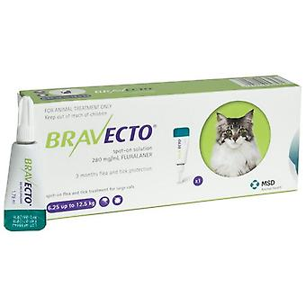 Bravecto 500mg Spot-On oplossing voor grote katten 6,25-12,5 kg (13,8-27,5 lbs)