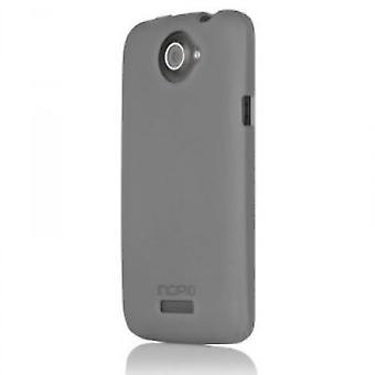 HT-268 Incipio NGP case cover for HTC one X - translucent mercury grey