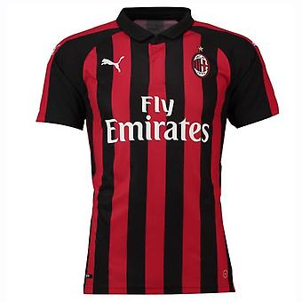 2018-2019 AC Milan Puma Home Football Shirt