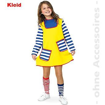 שובב גור ויילפאנג בחורה חזקה לילדים תלבושות