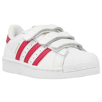 Adidas Superstar Foundation CF B23665 universal all year kids shoes