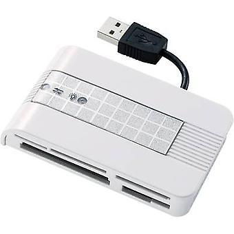 Renkforce CR22e-SIM External memory card reader USB 2.0 Silver