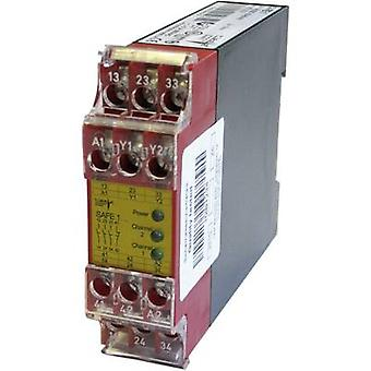 SAFE 1 Riese Operating voltage: 24 Vdc, 24 V AC 3 makers, 1 breaker 1 pc(s)