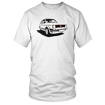 VW Golf Gti Pop Art męskie T Shirt