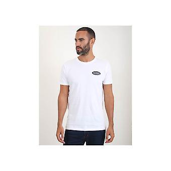 Von Dutch a soulevé la poitrine Logo Tshirt