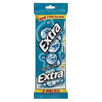 Zusätzliche Polareis Zucker frei Gum 3 Pack