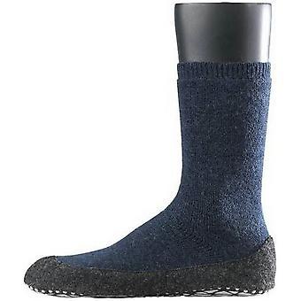 Falke Cosyshoe Midcalf calcetines - azul oscuro