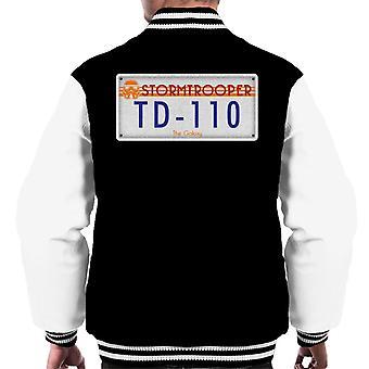 Original Stormtrooper License Plate Men's Varsity Jacket