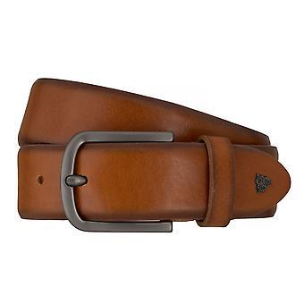 Cinturones de ROY ROBSON cinturones hombre cuero Cognac correa 7616