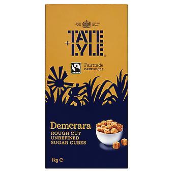 Tate & Lyle Demerara Rough Cut Sugar Cubes