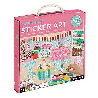 Petit Collage Sticker Art Kit
