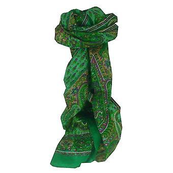 Amoreira cachecol longo tradicional Lexi verde por Pashmina & seda