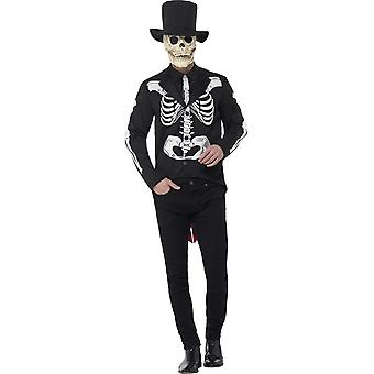 Day of the Dead Se±or Skeleton Costume, XL
